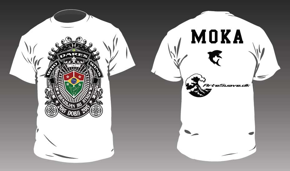 Danish Open BJJ 2015 Competitor t-shirt